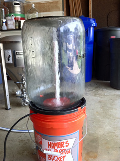 DIY Keg washer