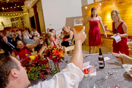 Homebrew wedding
