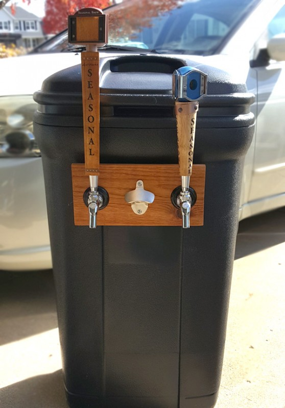 Diy Trash Can Kegerator American Homebrewers Association
