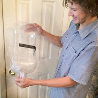 Clean Plastic Carboy
