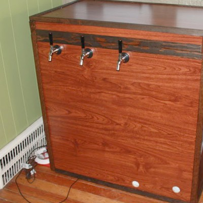 Keezer Homebrewing Build
