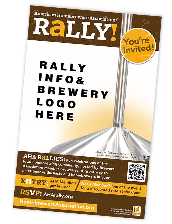 AHA Rally Poster