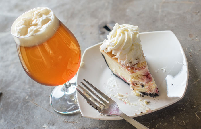 Beer and Cheesecake