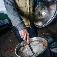 Homebrewing Whirlpooling