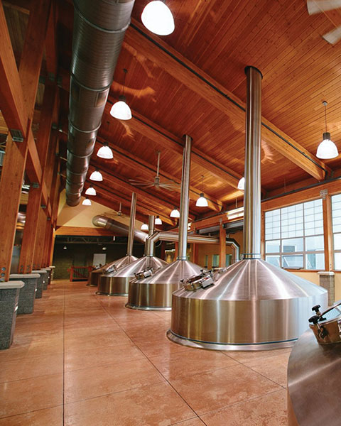 Inside the Bell's Brewhouse