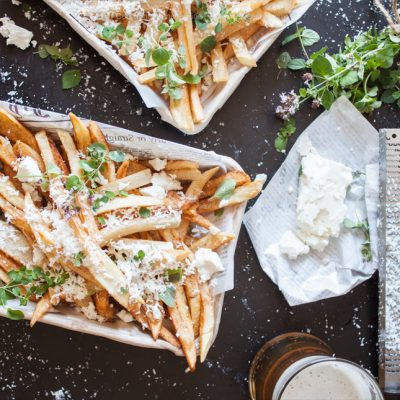 feta fries recipe