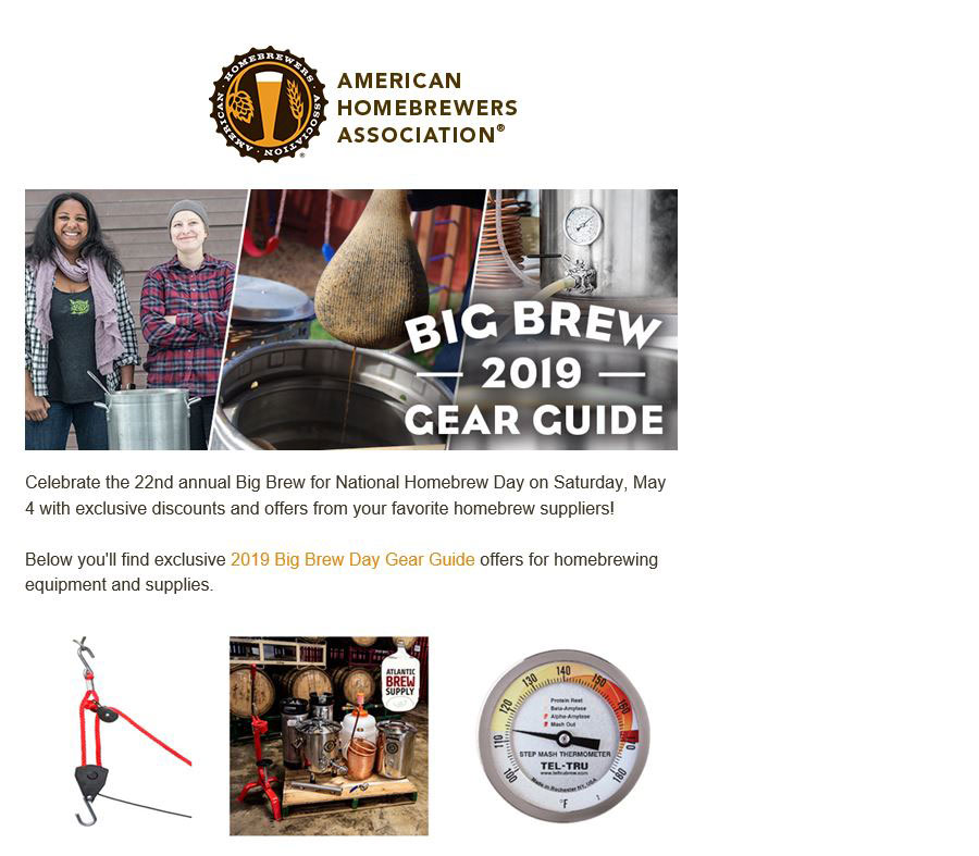 Big Brew Gear Guide