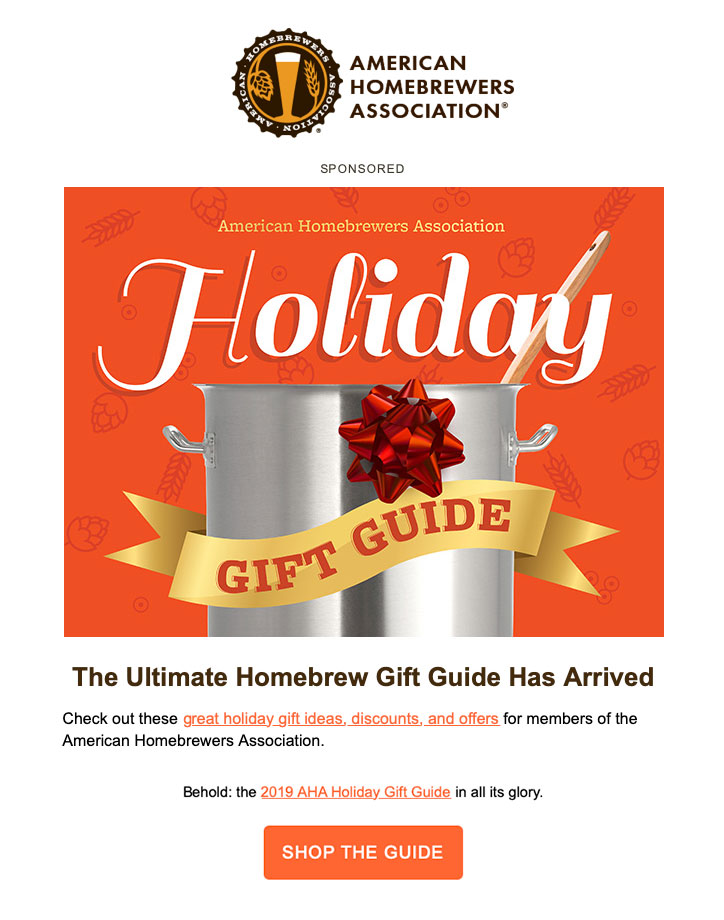 Holiday Gift Guide Example