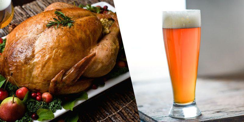 thanksgicing turkey beer pairing