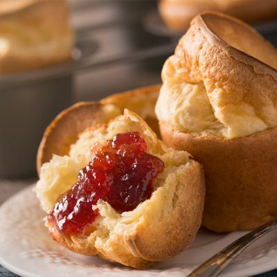 Sourdough Popover Roll Recipe