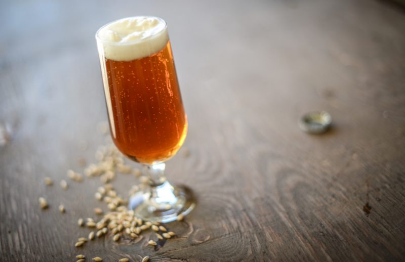 THC-Infused Caramel Amber Ale