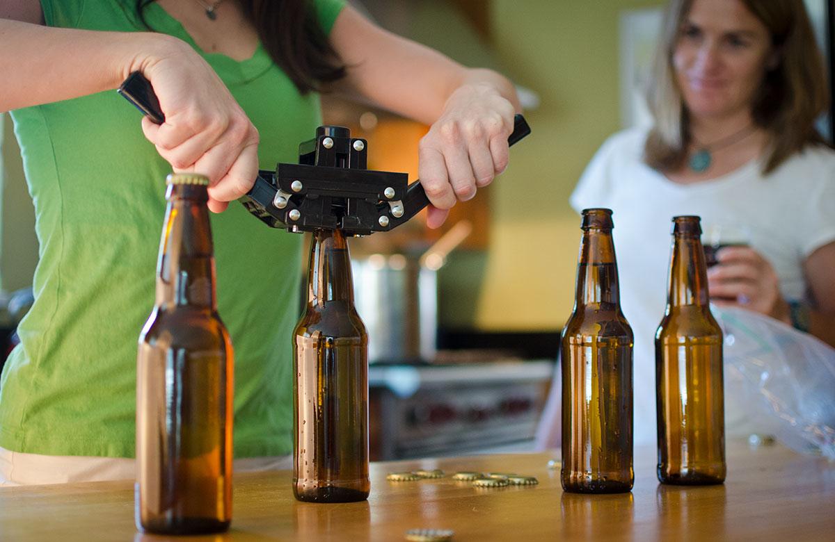 bottling homebrewed beer