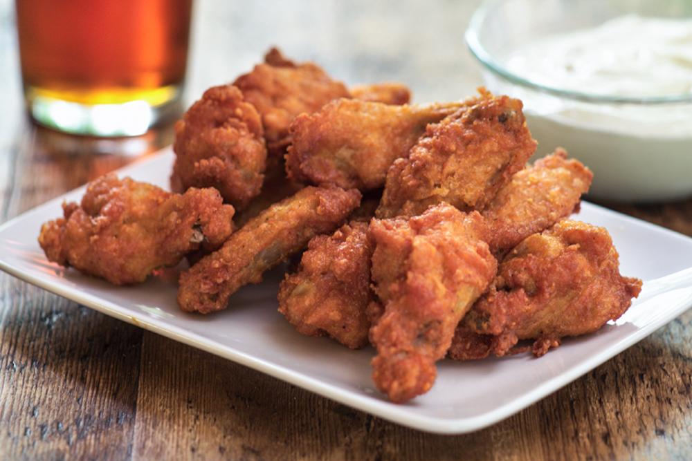 Beer Battered Chicken Wings