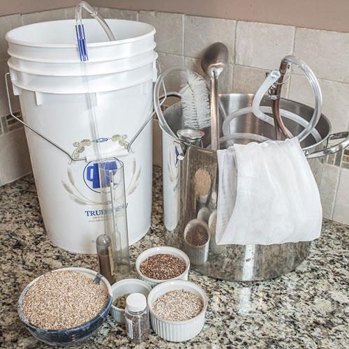 clean homebrewing equipment